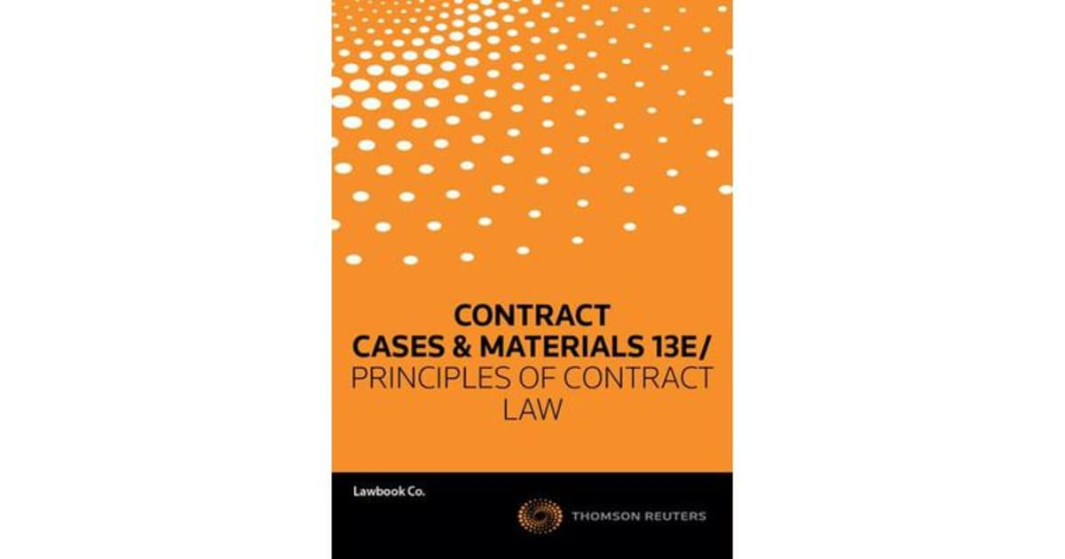 contract cases 1 Contract law offer and also it is important to know the difference between bilateral and unilateral contracts the case of carlill v carbolic smoke.