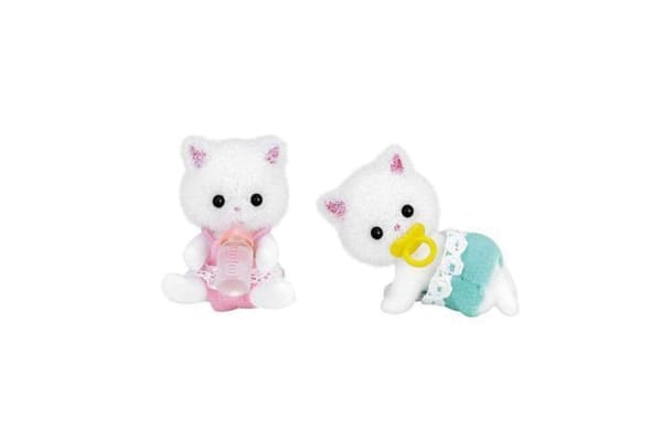 Sylvanian Families Persian Cat Twins