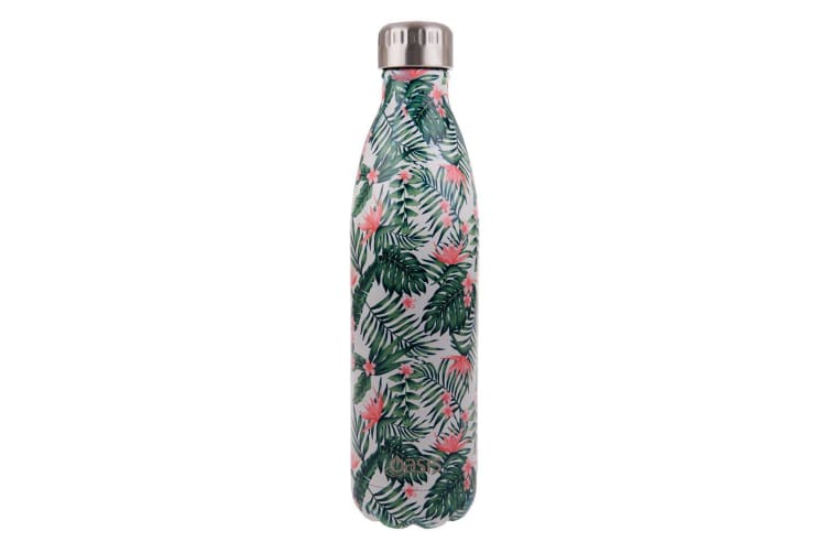 Oasis Stainless Steel Double Wall Insulated Drink Bottle 750ml Bird Of Paradise