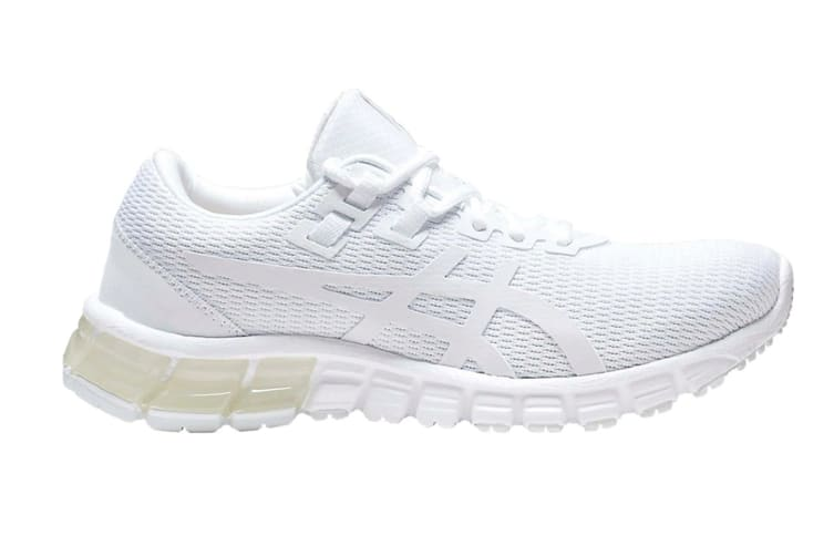 ASICS Women's GEL-Quantum 90 Running Shoe (White/White, Size 6)