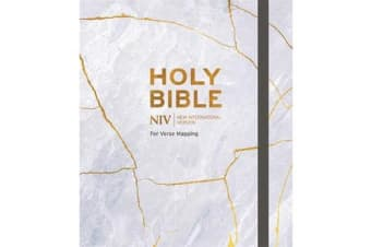 NIV Bible for Journalling and Verse-Mapping - Kintsugi
