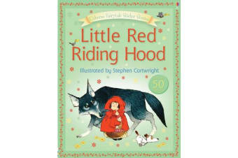 Usborne Fairytale Sticker Stories Little Red Riding Hood