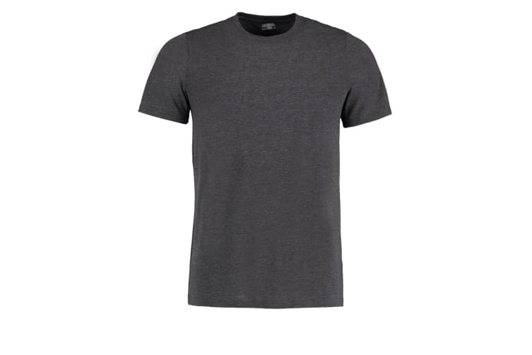 Kustom Kit Mens Superwash 60 Fashion Fit T-Shirt (Dark Grey Marl) (XL)