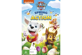 Paw Patrol Spring Into Action DVD Region 4