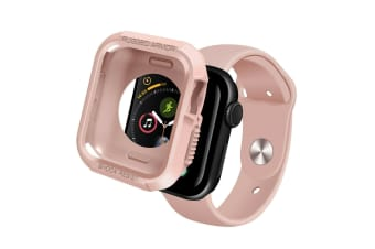 [Rugged Armor] Apple Watch Series 4 5 Case iWatch Cover for 40mm Bumper TPU-Pink