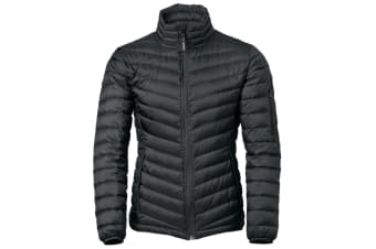 Nimbus Ladies Lightweight Fashionable Aspen Down Jacket (Duck Feather) (Black) (XL)