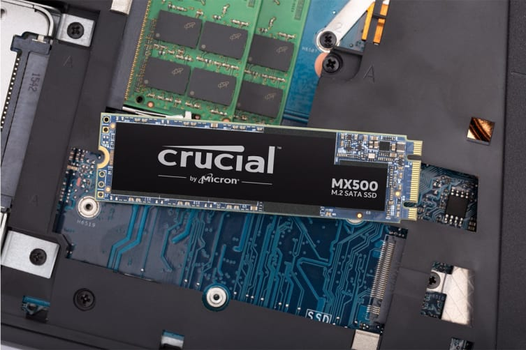Crucial MX500 250GB M.2 Type 2280 Internal SSD (CT250MX500SSD4)