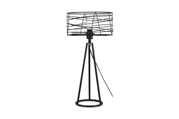 Ovela Industrial Style Wound Wire Table Lamp