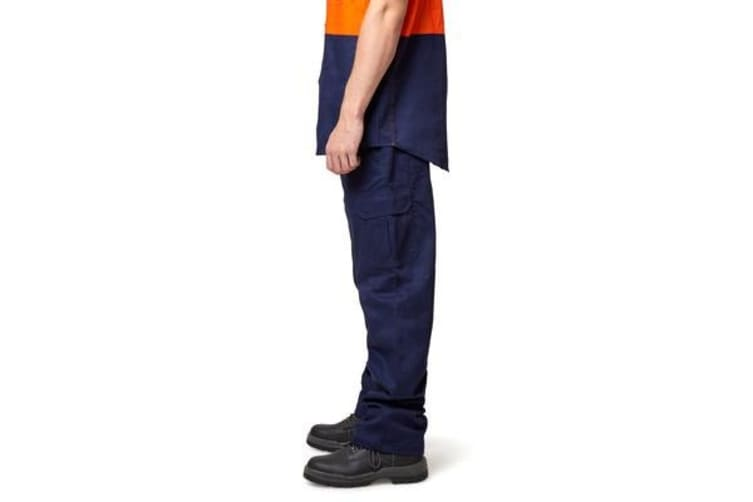 King Gee Cargo Drill Pant (Navy, Size 97R)