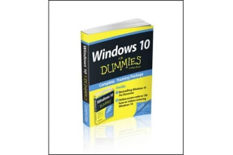 Windows 10 for Dummies Book+online Videos Bundle