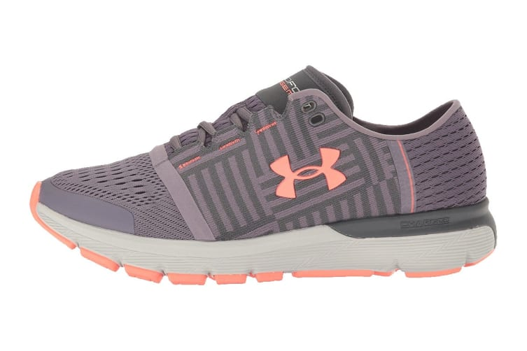 Under Armour Women's Speedform Gemini 3 Running Shoe (Flint/Rhino Gray, Size 9.5)