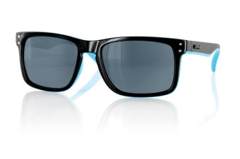 Carve Goblin Black/Blue Polarized Sunglasses
