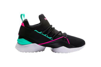 PUMA Women's Muse Maia Street 1 Shoe (Black/Knockout Pink, Size 8.5)
