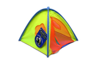 Superpet Camp Sleeper Pet Tent (Multicoloured) (One Size)