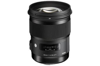 New Sigma 50mm f/1.4 DG HSM Art Lens for Canon (FREE DELIVERY + 1 YEAR AU WARRANTY)