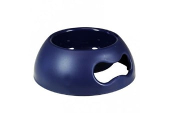 United Pets Pappy Bowl Dark Blue - Large