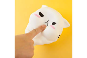 Smoko Meowshua Cat Squishy Huggable LED Touch Sensor Wall Light