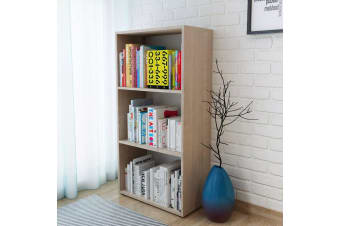 vidaXL Bookshelf Chipboard 60x31x116.5 cm Oak