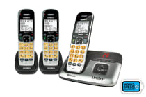 Uniden Premium Bluetooth DECT Digital Cordless Phone System with Answering Machine (3 Phones)