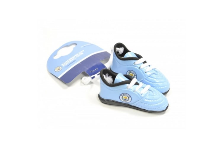 Manchester City FC Boots Car Hanger (Blue/White) (One Size)