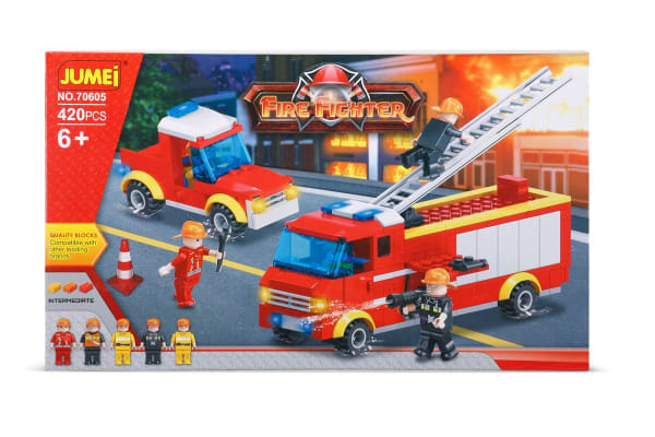 Jumei Building Blocks - Fire Fighter (Lego Compatible)