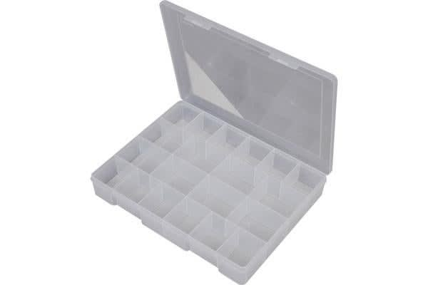 Fischer Plastic 20 Compartment Storage Box