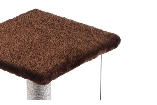 Cat Scratching Post Tree 0.61m Dark Brown