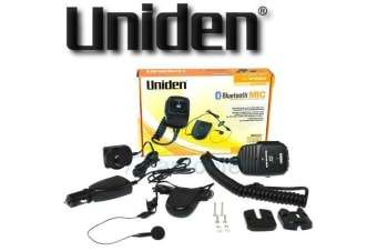 UNIDEN BLUETOOTH MIC KIT SUIT UH7700NB UH7740NB UH7750NB UHF RADIO HANDS FREE