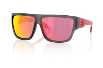 Carve Crew Black/Red Iridium Polarized Mens Sunglasses