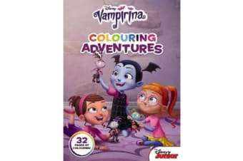 Vampirina - Colouring Adventures (Disney Junior)