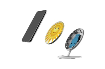 QI Wireless Charger For iPhone XR XS MAX Samsung Galaxy S10 S10+ S10e  Sun