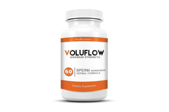 910mg Voluflow 60 Caps VitoSolutions Natural Sperm Motililty Male Sexual Health