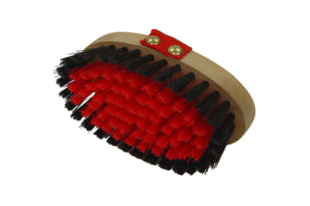Equerry Body Brush (Red)