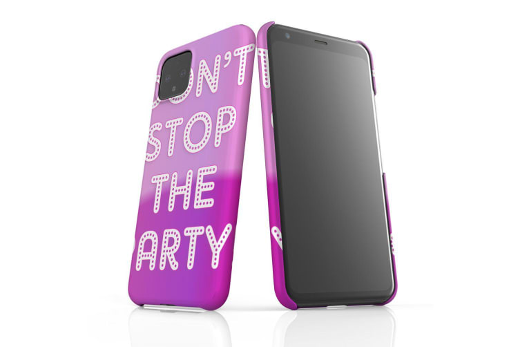 For Google Pixel 4 Snap Case Lightweight Protective Slim Unique Cover Party