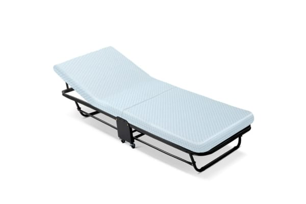 foldable guest bed with 6cm high density mattress