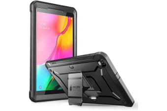 SUPCASE Unicorn Beetle Pro Black Full Body Rugged  Cases for Samsung Galaxy Tab A 8.0 (2019