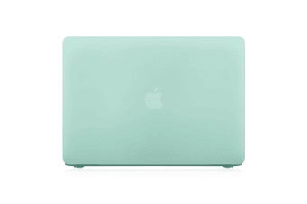 "Hard Case Cover for Apple Macbook Pro 13"" Inch  A1708-Matte Clear-Matte Green"
