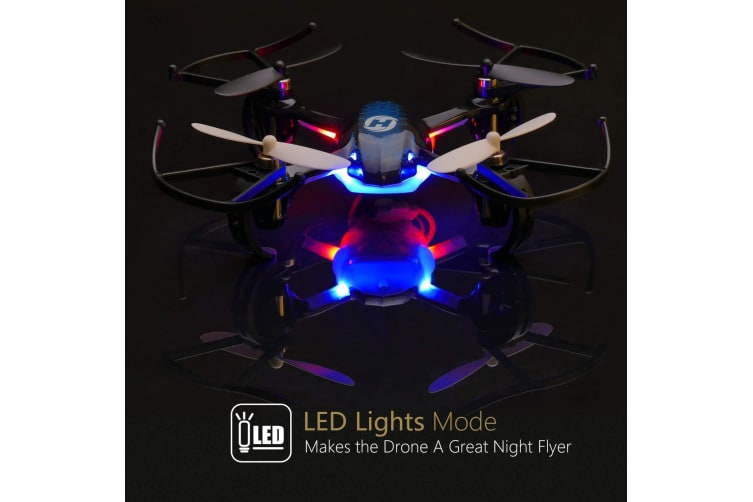 Holy Stone HS170 Predator Mini RC Helicopter Drone 2.4Ghz 6-Axis Gyro Quadcopter