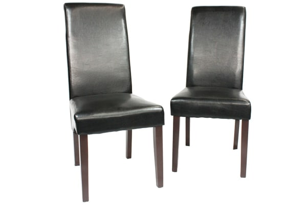 Set of 2 Swiss Dining Chair (Black)
