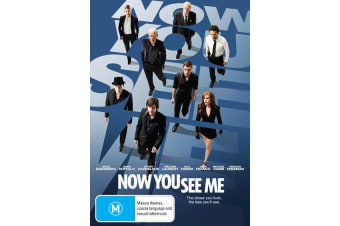 Now You See Me DVD Region 4