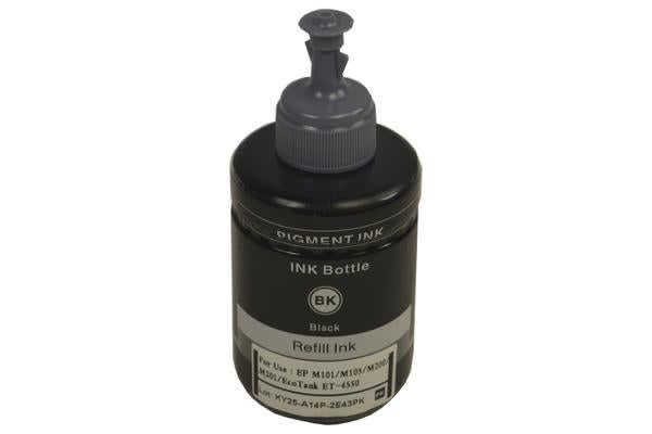 T774 Generic Pigment Black Refill Bottle