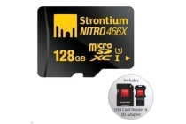 STRONTIUM Nitro Series 128 GB Ultra High Speed Micro SDXC UHS-1 Card with Adapter and USB Card