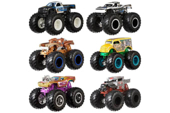 Hot Wheels Monster Trucks 1:64 Demo Doubles 2-Pack