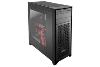 Corsair 450D Mini-ITX, MicroATX, ATX, E-ATX Mid-Tower Case with Side Window 7x PCI Slots.