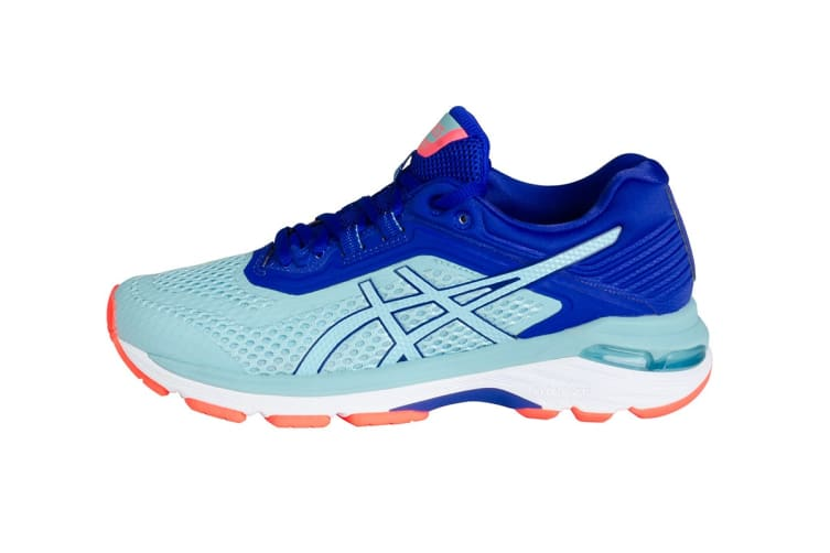 official photos bc56c 4ed3e ASICS Women's GT-2000 6 Running Shoe (Porcelain Blue/ASICS Blue, Size 7)