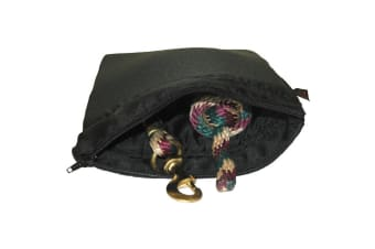 Moorland Rider Padded Wash Bag (Black) (One Size)