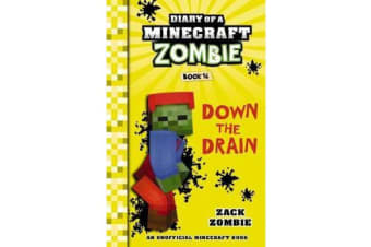 Diary of a Minecraft Zombie #16 - Down the Drain