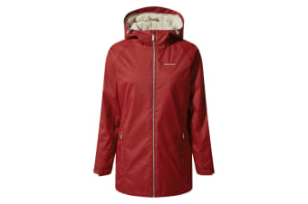 Craghoppers Womens/Ladies Madigan Classic Thermic II Jacket (Fire Red) (12)