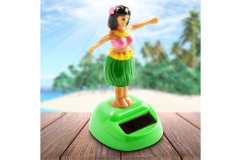Solar Powered Dashboard Dancing Hula Girl