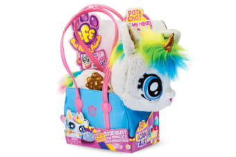 BFF Best Furry Friends Plush Talking Stardust Unicorn in Handbag